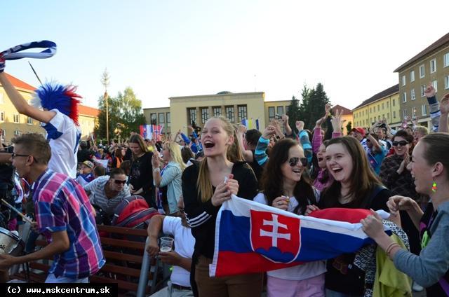 FINÁLE MS: SLOVENSKO - RUSKO AJ V ŽIARI!